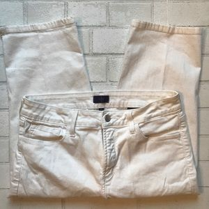 NYDJ / Crop White Lift Tuck size 10P